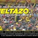 ¡RECUERDA BARCELONISTA! Hoy en el aniversario de BSC puedes asistir al #VueltazoAmarillo (entrenamiento 18:30) https://t.co/vSL0Nbo8Ui