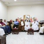 ???? وفد من بلدة الدير يزور منزل الأمين العام للوفاق الشيخ علي سلمان ويطالب بالإفراج عنه فوراً - 30 أبريل 2016 #Bahrain https://t.co/MtS4JIpn07