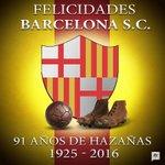 .@BarcelonaSCweb... 91 años de ser ídolo https://t.co/7K2pKZCG5c https://t.co/bT8gumiYie