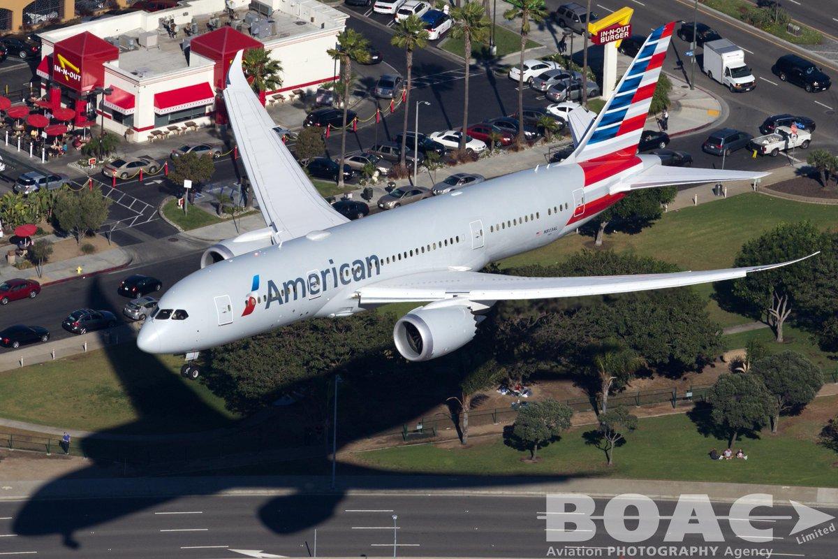 RT @BOACLtd: Stunning @AmericanAir B788 dreamliner at @flyLAXairport by Liav Zimelman