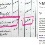 Modis birthday in his MA cert: 29-8-1949 Modis official birthday: 17-09-1950 First PM with two birthdays :) https://t.co/EVi4v7e3ZR