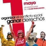 Viva el #1demayo ,Viva la lucha de la clase obrera . 12 mañana manifestación en león @PCELeon @ferberla @Piglez66 https://t.co/nZ1FFM24IR