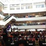 THE CROWD AT GLORIETTA ACTIVITY CENTER. ENJOY TEAM GLORIETTA! :) #ALDUBKiligSaSweetDay ctto https://t.co/stD15K7dey