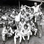On this day 1976, Bobby Stokes goal clinched it as @SouthamptonFC famously won the FA Cup at Wembley. #SaintsFC https://t.co/trKqBvYSrx