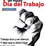 #1demayo Felicidades a todos los trabajadores que construyen día a día nuestro país #FrasesDeldia @MashiRafael https://t.co/p7VQ00zOAL