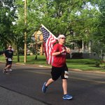 America the Beautiful @RunFlyingPig - 26.2 miles with Our Flag @CityOfCincy @WCPO https://t.co/HhXoPDBmBl
