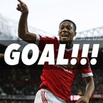 GOOALLL! MARTIAL scores! Manchester United 1-0 Leicester City. COME ON UNITED!!! #MUFC https://t.co/h3AI0yoe56
