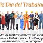 #FelizDíaDelTrabajador a quienes con su labor aportan a la construcción del país! @BloqueAP35 @MashiRafael https://t.co/2LgWswo7so