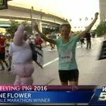 Heres your female Flying Pig marathon winner Anne Flower. Shes a 26 y.o. medical student at Ohio University. #WLWT https://t.co/6gluZORnrd