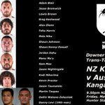Congrats to the NZ Kiwis players selected for this weeks Downer Test v Australia #NZKiwis #KiwisvRoos https://t.co/NmloMbY0Mg