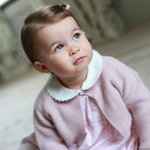 The Duke and Duchess are delighted to share new photographs of Princess Charlotte. https://t.co/Hvnk7FYEFC