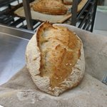 Sourdough is ready! & its particularly gorgeous today! #artisan #bread #bakery #cardiff https://t.co/aOEh8a30u5