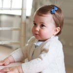Kensington Palace releases photos of Princess Charlotte ahead of her first birthday https://t.co/aUhVa2s5qu https://t.co/5CQLcN7u1g