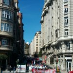 #Coruña :: Manifestaciones por el 1° de mayo recorriendo ahora mismo el centro de la ciudad. https://t.co/sonU3J5H4W