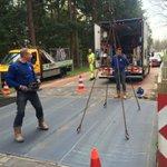 De platen over de wildroosters hebben zich goed gehouden tijdens de girotoertocht @Girogelderland. Nu weer opruimen! https://t.co/Of3019rnZY