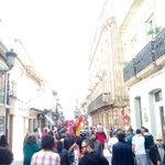 #Coruña :: Más manifestaciones del 1° de mayo por el centro de la ciudad. https://t.co/QnZR4M1BZO