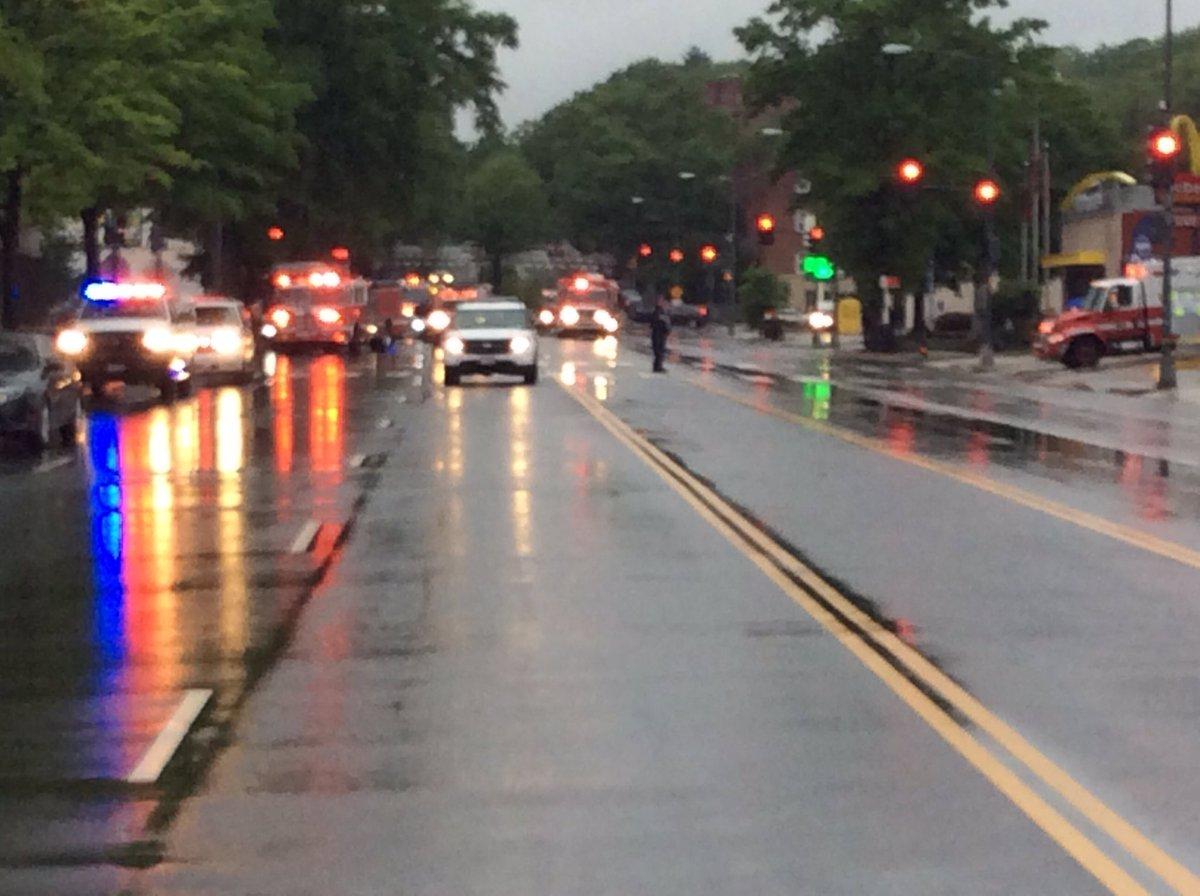 CSX train derailment NE, DC - Hazmat situation - Rhode Island Ave shutdown in area - AVOID area https://t.co/pZt5OJTaOy