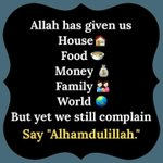 Alhamdullilah for Everything that Allah has given me I cant never thank Him enough Im so grateful alhamdullilah🙏😀😊 https://t.co/i5CwHdq2e4