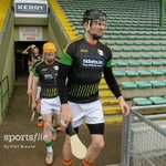 .@Carlow_GAAs Conor Lawlor leads his teammates out onto the pitch before the game against @Kerry_Official! #GAA https://t.co/oZiXS3yVWs
