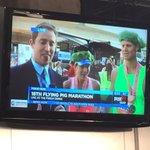 Half marathon winners for #flyingpig congrats! @FOX19 https://t.co/P4NCXpVE0e