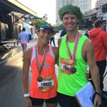 Pleasure to interview Amy Robillard and David Bea live just now. 2016 @RunFlyingPig half marathon winners. @FOX19 https://t.co/WOE2Fa4CUk