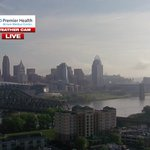 Happy #flyingpig! Chances for #storms move in later today. Join us on @local12 through 9am for the timing. https://t.co/cImH13wPI6