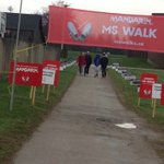 Just getting set up for MS Walk at College Heights #Mswalk2016 10am https://t.co/rkES8WcmxI