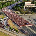 #1deMayo en La Habana (foto vía @cubadebate) https://t.co/ugZt3aaPD3