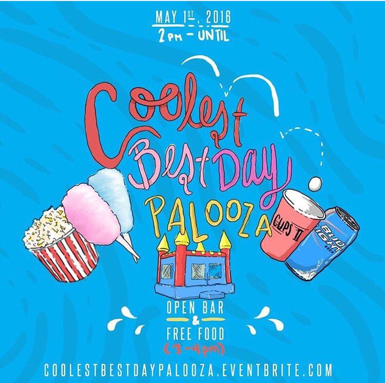 Connecting Cool, Best Day Ever, Henny Palooza, Cups II are bringing you  #CoolestBestDayPalooza Today