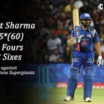 Rohit Sharma leads by example for Mumbai Indians against Rising Pune Supergiants #IPL2016 #RPSvsMI https://t.co/KZM935RAMX