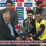 Congrats KPK for winning a Pakistan Cup ! #PakistanCupFinal https://t.co/z9shtUCdd3
