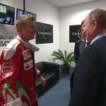 Of all the people to make Kimi smile, you really wouldnt have put money on it being Vladimir Putin. https://t.co/e5sgDK5ILf