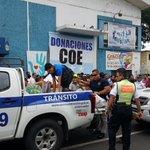Porque somos una País solidario y unido,hacemos entrega de donaciones al COE provincial del Guayas.#1roDeMayo https://t.co/SURX2cFVMK