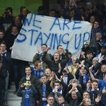 """We are staying up"" is the chant from the Leicester fans. Reckon theyll be ok! https://t.co/FsQAv68Xrz #LCFC #MUFC https://t.co/tP8zJwFzxg"