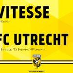 Afgelopen. #Vitesse verliest met 1-3 van FC Utrecht. #vitutr https://t.co/2AY6FrtvdN