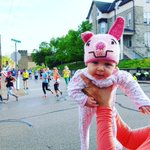 Mira reprising Rubys past role as the cutest #FlyingPig on Nassau St. Soon maybe they @RunFlyingPig together. https://t.co/JXDIBFUtA4