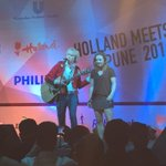 #Music by @Jelle_B in Pune! He had some help today by one of our hockey coaches! #HollandMeetsPune https://t.co/259hbmAF5w