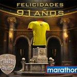 Felicidades al único ídolo del Ecuador por sus 91 años de pasión! @BarcelonaSCweb https://t.co/srhDrxF9TE