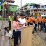 Inicia #1demayo en portoviejo homenaje de @EcuadorCut a los trabajadores de la patria https://t.co/4C2SzJ8wLy