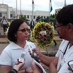 Ministra @margabga está presente en la plaza Eloy Alfaro de #Portoviejo, en homenaje al #1demayo https://t.co/iOeOOpdlXQ