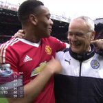 Photos: Martial and Ranieri, then and now [via @Footballogue] https://t.co/QFDTHGJijN