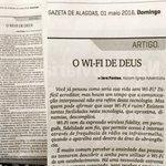 Artigo da jornalista da Missão Alagoas, @iarafontes7, no espaço semanal concedido pela Gazeta de Alagoas. https://t.co/J4FQUDAm7I
