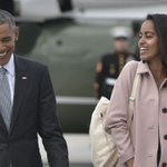 Malia Obama taking a gap year before attending Harvard in fall 2017, White House announces. https://t.co/8vSx3jZBi7 https://t.co/UIC0WeN81u