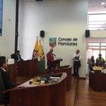 """""""En el PDM ahora el escenario es el @concemanizales"""" Luis Gonzalo Valencia Gonzáles, presidente Concejo Manizales https://t.co/LjhbBTmPou"""