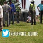 #iquique unidades de bomberos trabajan en colisión de 2 vehículos rotonda chipana 1 lesionado. https://t.co/HYRoD1i8Y4