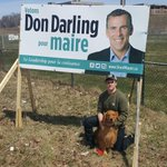 Quick sign repair with Liam Darling and Gus. They both support #growsj #don4mayor https://t.co/QJPyWrM1xr