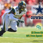 Congrats to #NSU LB Deon King, who signed as a free agent with the Dallas Cowboys! https://t.co/MzN7CiaicQ https://t.co/vwspOgaOnd