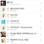 MELON CHARTS #1 불타오르네 #2 Save Me #4 Epilogue Young Forever #7 Butterfly (Prologue Mix) https://t.co/i3V3riQqoy