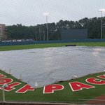 Tarps still on here in Raleigh. Well keep you posted ☔ #rainraingoaway #DUKEvsNCSU https://t.co/OFDPyxrUbZ