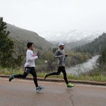 PHOTOS from the lovely and snowy Poudre Canyon portion of the #coloradomarathon https://t.co/bH5RKvbwDQ https://t.co/uLNLmo1xmg